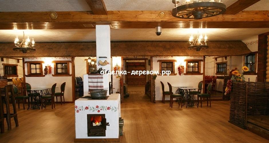 Фото ресторан в деревенском стиле (23)