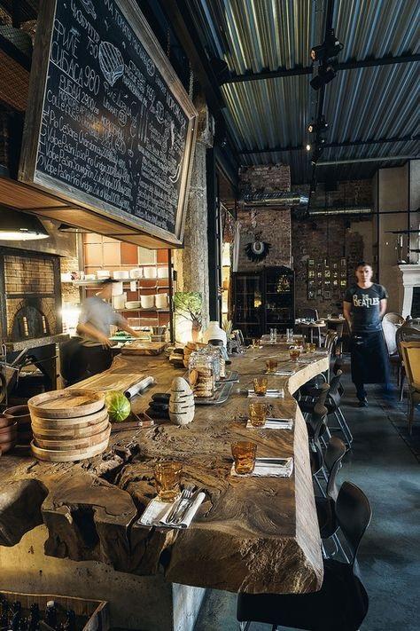 Фото ресторан в деревенском стиле (4)