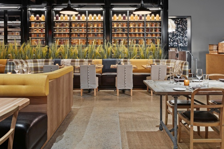 Фото ресторан в деревенском стиле (8)