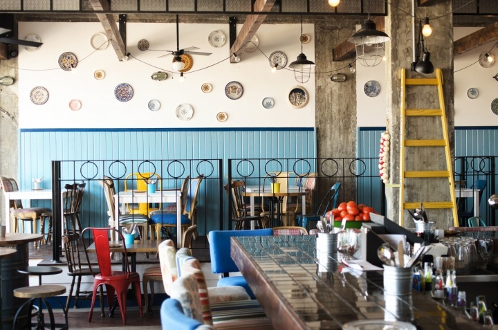 Фото ресторан в деревенском стиле (9)
