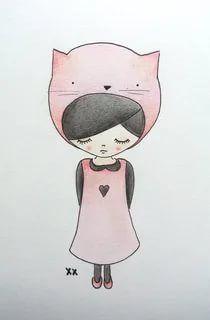 Картинки для девочки 12 лет для срисовки (16)
