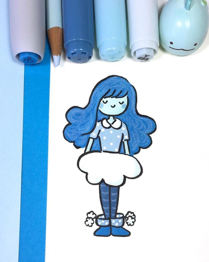 Картинки для срисовки kawaii (14)