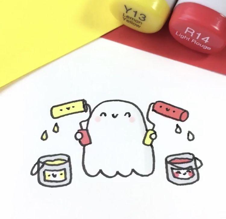 Картинки для срисовки kawaii (35)