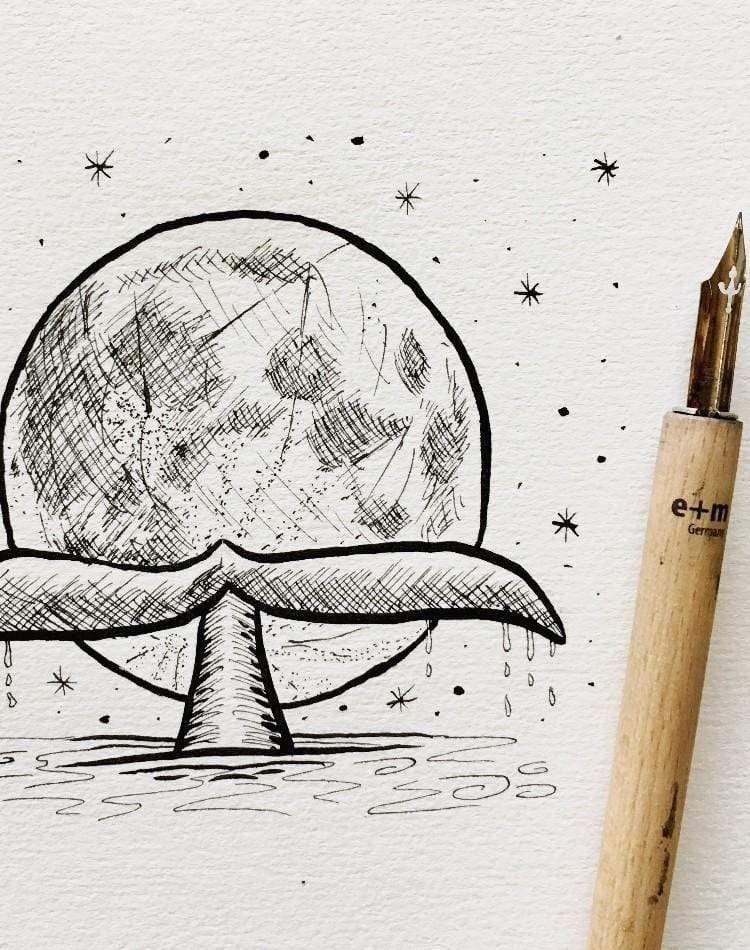 Няшные картинки для срисовки для лд (36)