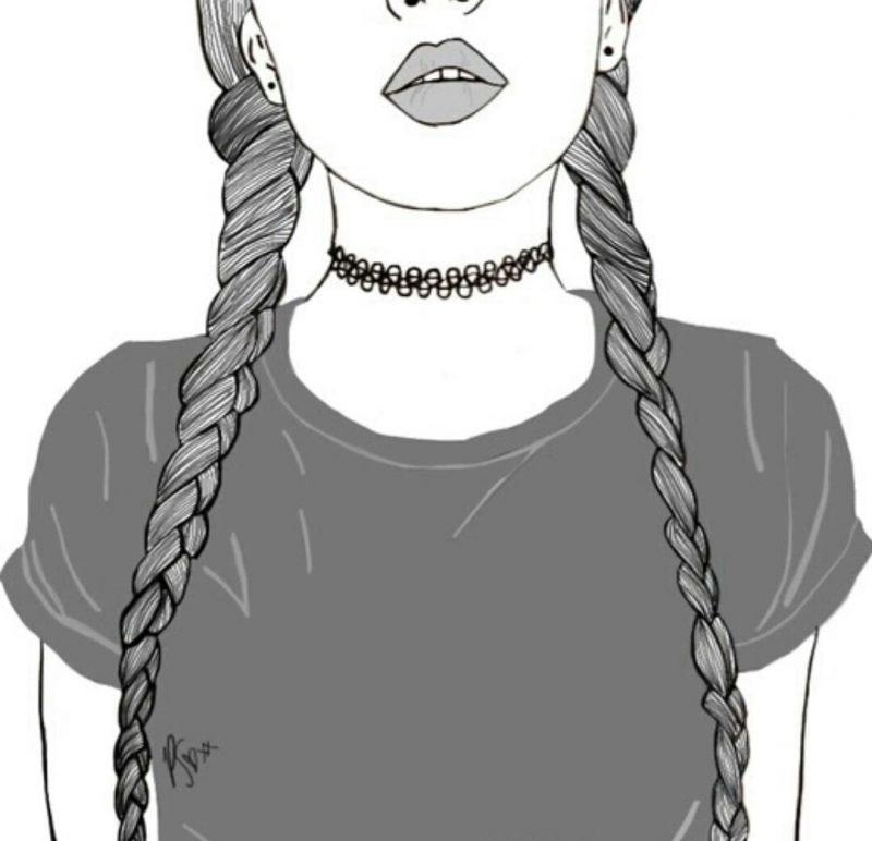 Картинки для срисовки девушки в шортах (15)