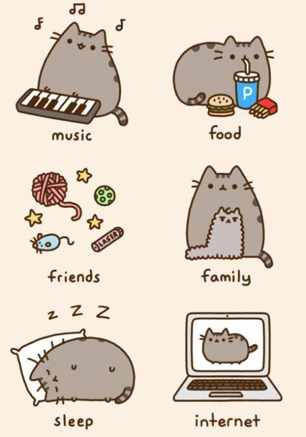 Картинки для срисовки котята милые (17)
