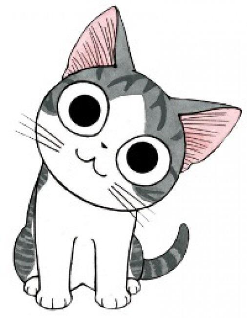 Картинки для срисовки котята милые (21)