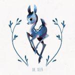 Картинки олень для срисовки