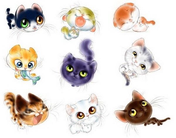 Невероятные срисовки котят (14)