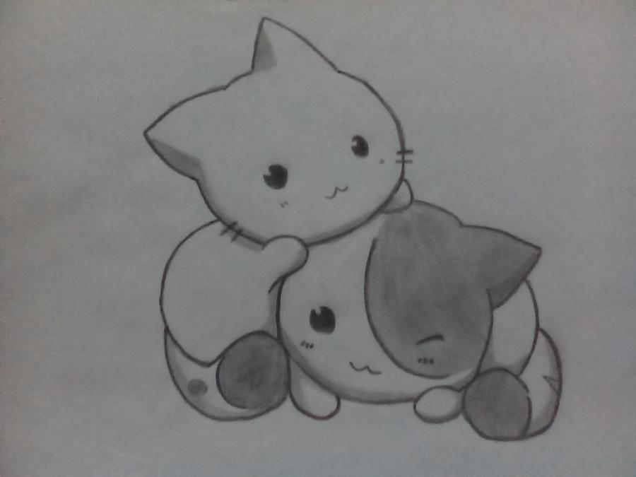 Невероятные срисовки котят (15)