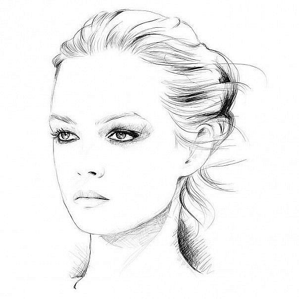 Рисунки карандашом для срисовки для начинающих людей (10)