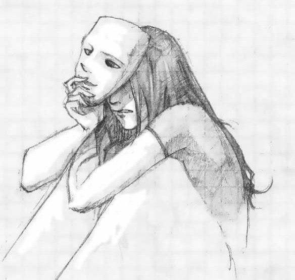 Рисунки карандашом для срисовки для начинающих людей (11)