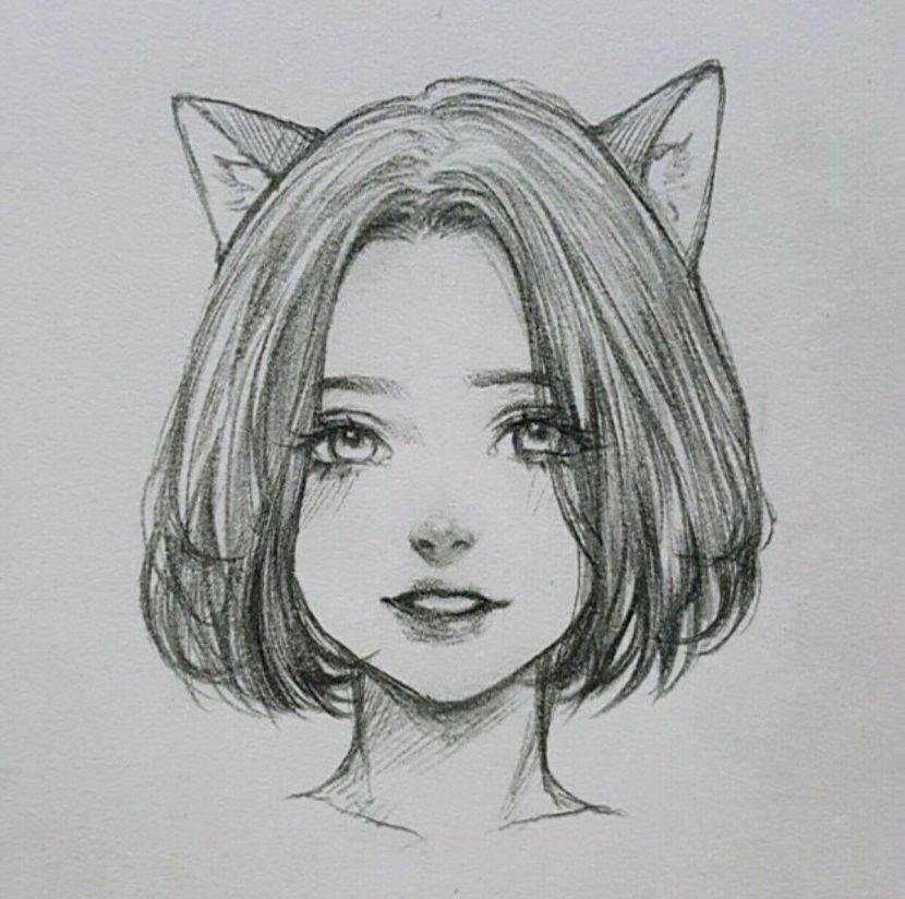 Рисунки карандашом для срисовки для начинающих людей (13)