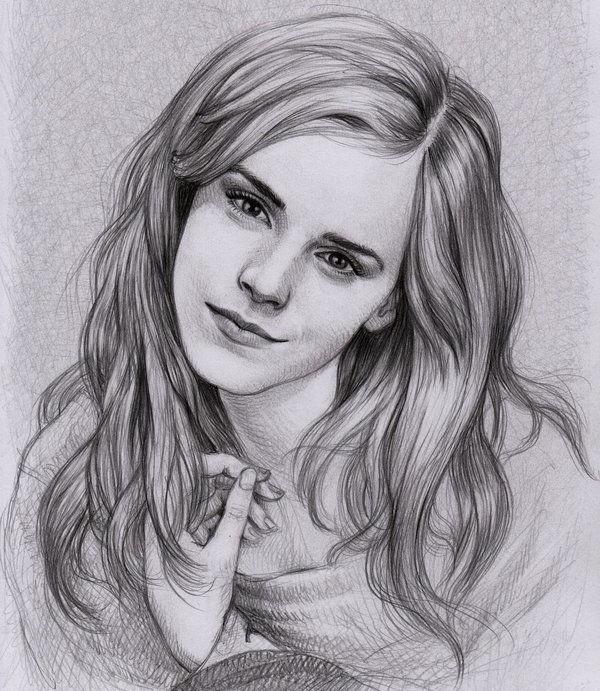 Рисунки карандашом для срисовки для начинающих людей (16)