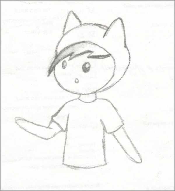 Рисунки карандашом для срисовки для начинающих людей (28)
