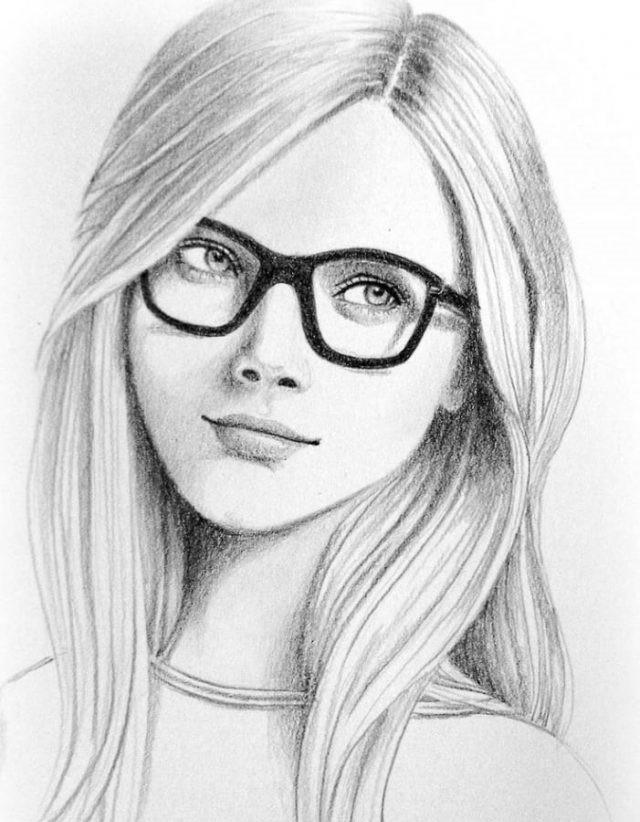 Рисунки карандашом для срисовки для начинающих людей (7)