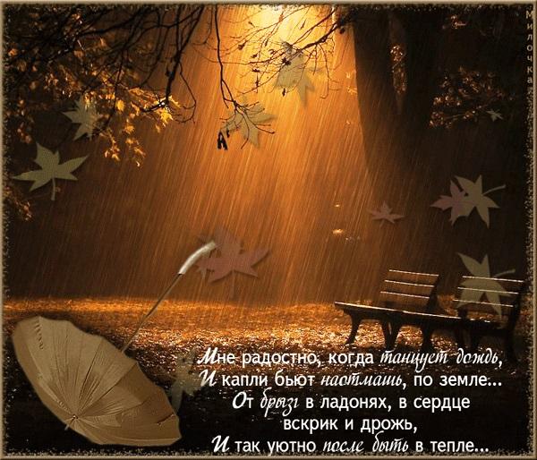 Доброе утро осень и дождь   прекрасные картинки (17)