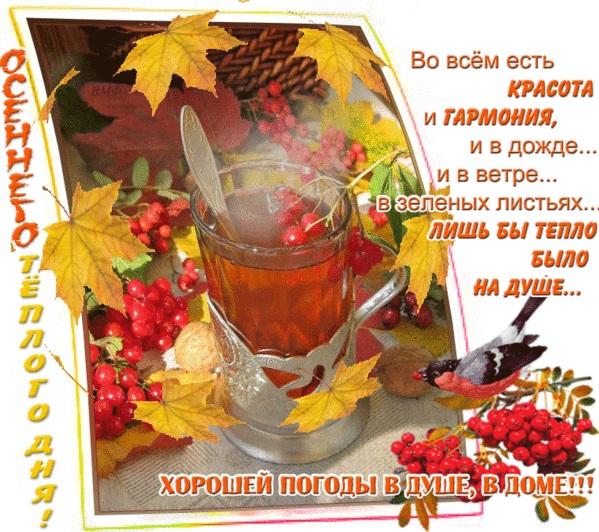 Красивые открытки на утро октября для родных (16)