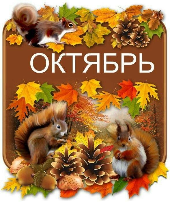 Красивые открытки на утро октября для родных (8)