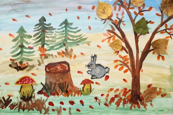 Осень в лесу красивые картинки для детей и родителей (4)