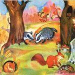 Осень в лесу красивые картинки для детей и родителей