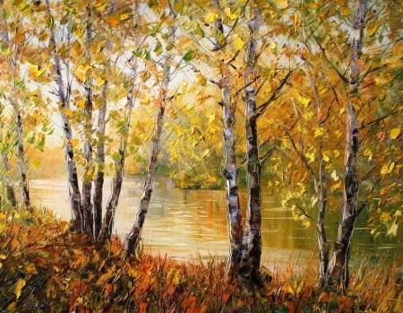 Осень в лесу красивые картинки для детей и родителей (7)