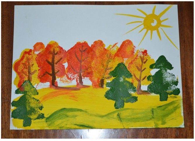 Осень в лесу красивые картинки для детей и родителей (8)