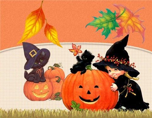 Красивые картинки с праздником Хэллоуин 2020 (17)