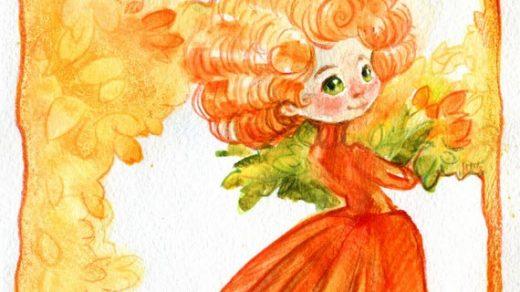Открытки на День собирания осенних листьев 15 октября (15)