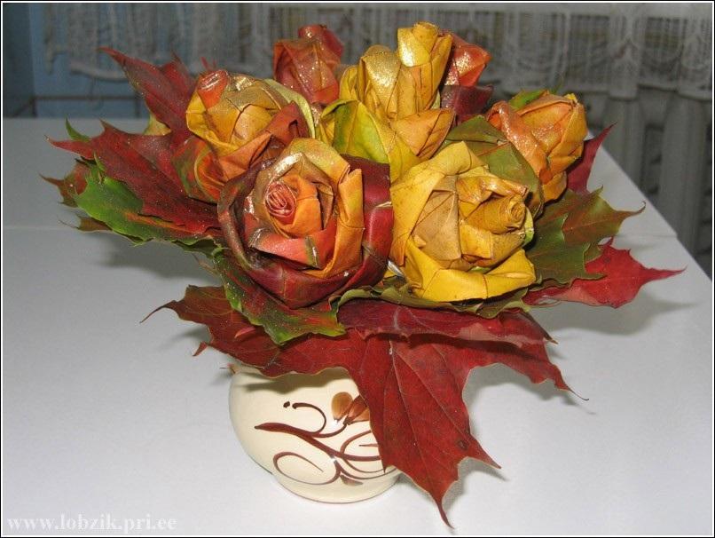 Открытки на День собирания осенних листьев 15 октября (4)