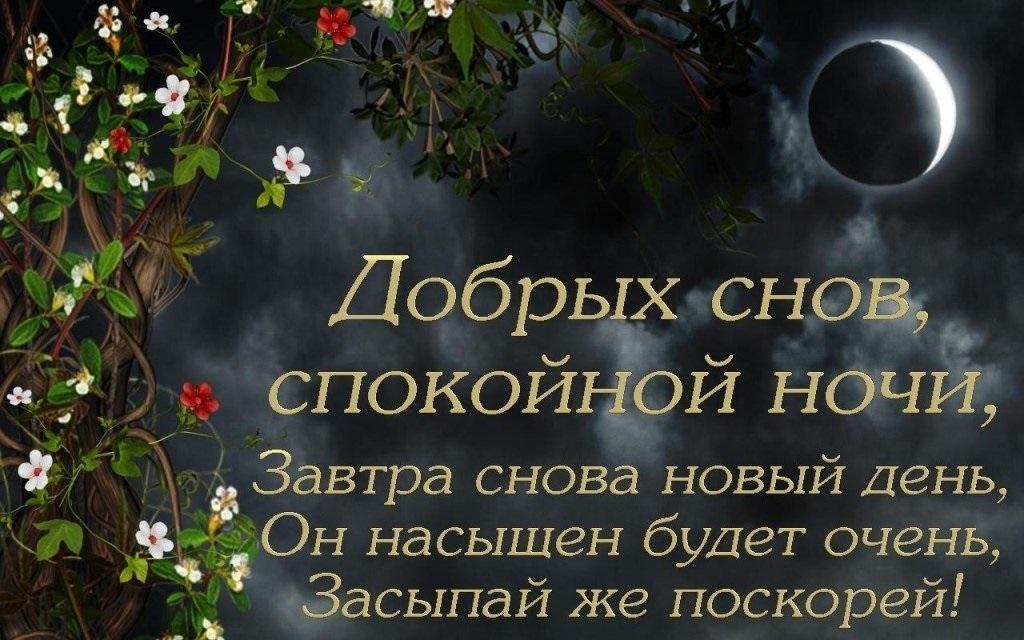 Доброй ночи ноября, холодная осень - картинки и открытки (16)