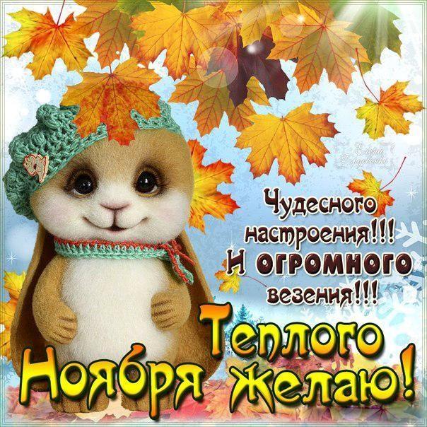 Доброй ночи ноября, холодная осень - картинки и открытки (17)