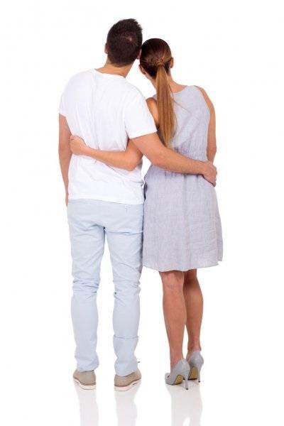 Картинки девушка и парень спиной друг к другу (11)