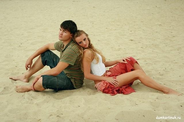 Картинки девушка и парень спиной друг к другу (24)