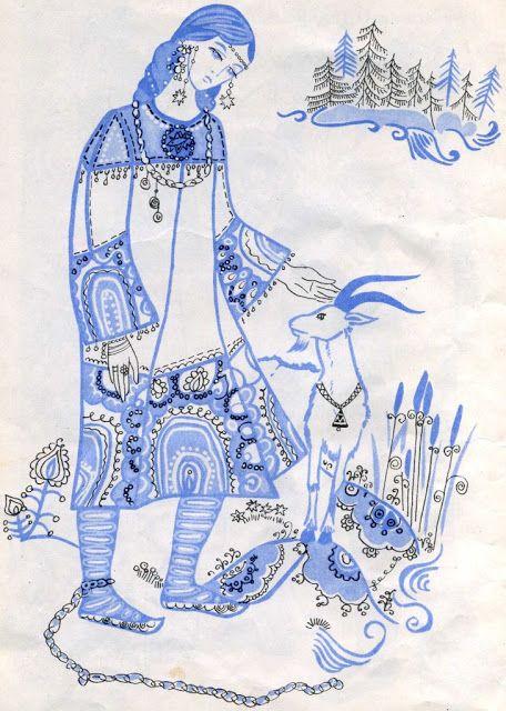 Красивые рисунки на тему Моя любимая сказка (13)