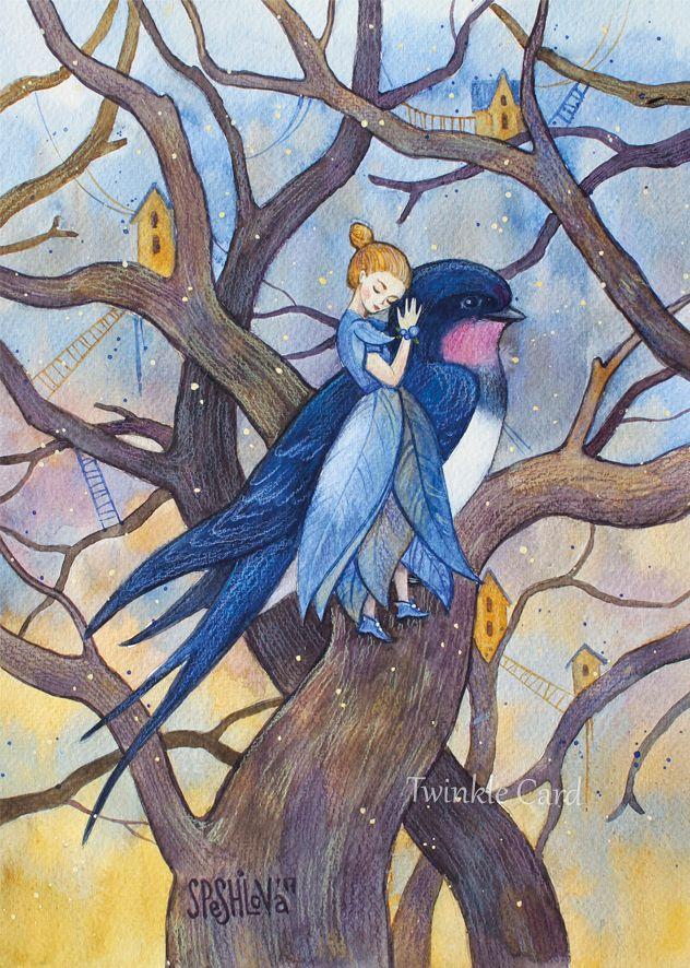 Красивые рисунки на тему Моя любимая сказка (24)