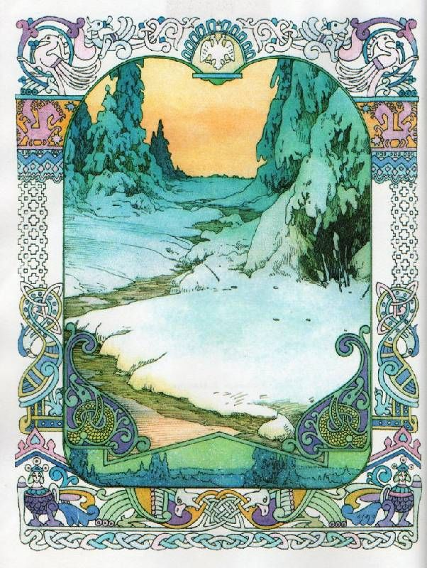Красивые рисунки на тему Моя любимая сказка (26)