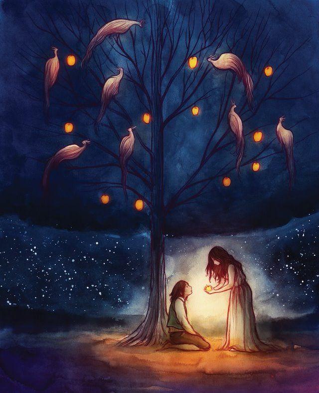 Красивые рисунки на тему Моя любимая сказка (9)