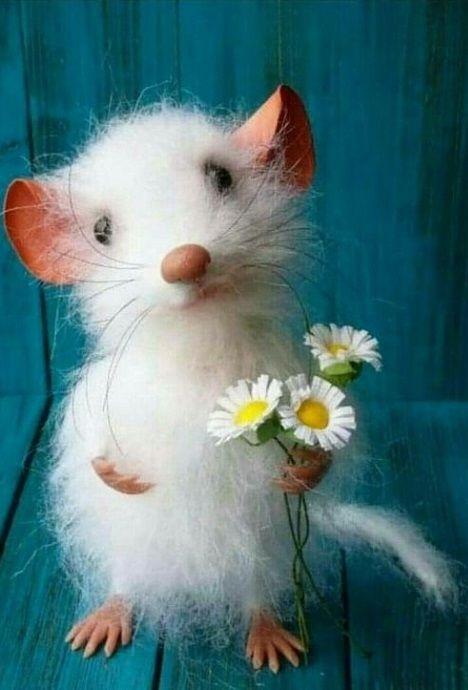 Мышка доброе утро красивые открытки с пожеланиями (17)