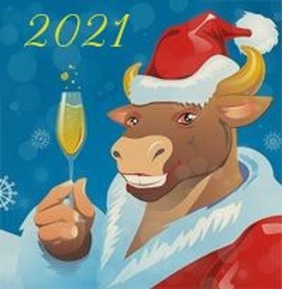 Картинки на Новый Год Быка 2021 - подборка фото (15)