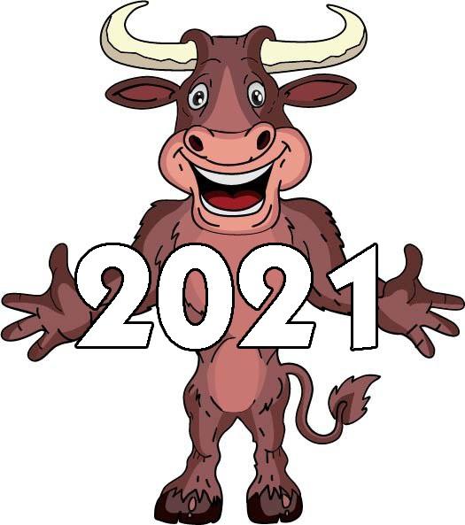 Картинки на Новый Год Быка 2021 - подборка фото (7)