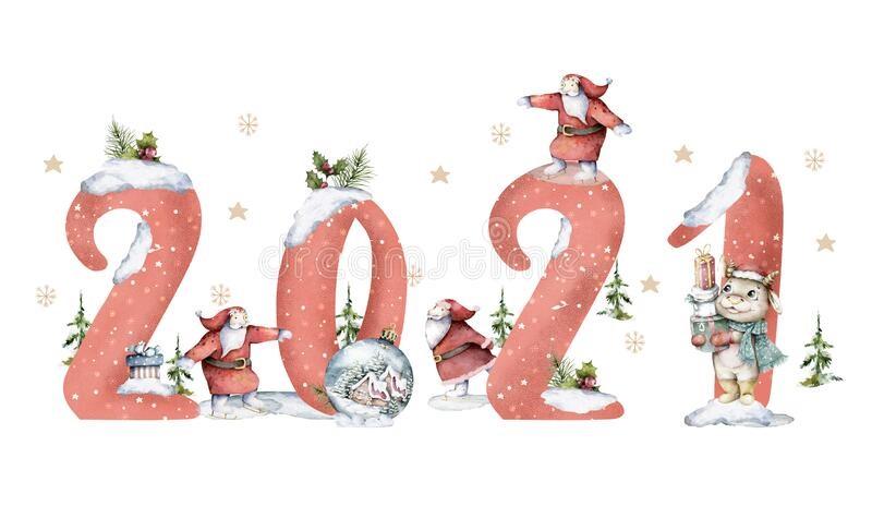 Картинки на Новый Год Быка 2021 - подборка фото (8)