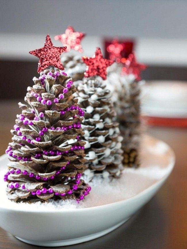 Новогодние украшения из ничего - подборка идей с фото (13)