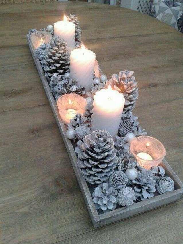 Новогодние украшения из ничего - подборка идей с фото (2)
