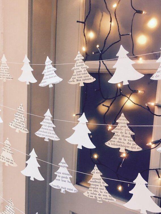 Новогодние украшения из ничего - подборка идей с фото (23)