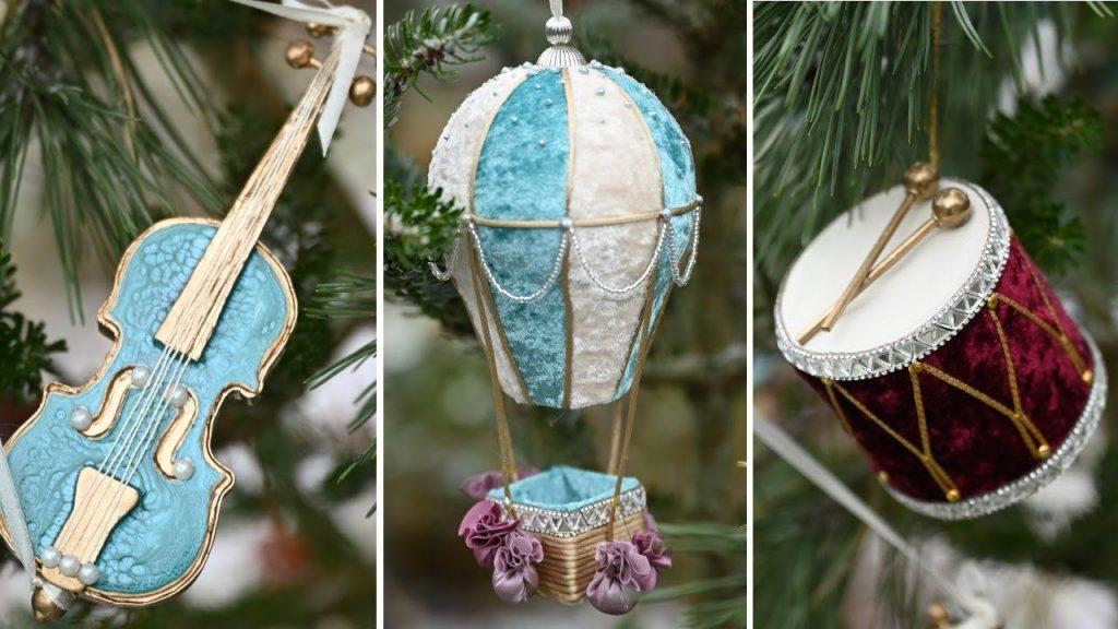 Новогодние украшения из ничего - подборка идей с фото (4)