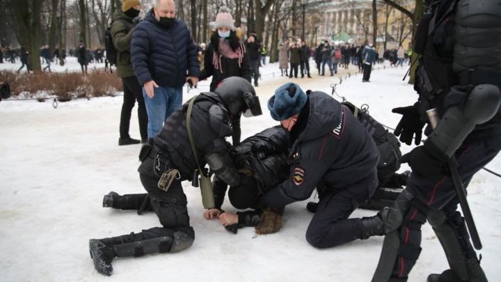 Акция протеста 23 января 2021 года в России - фото (2)