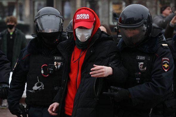 Акция протеста 23 января 2021 года в России - фото (8)