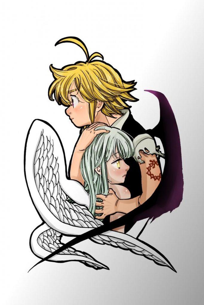 Мелиодас и Элизабет красивые картинки и арты (11)