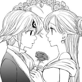 Мелиодас и Элизабет красивые картинки и арты (65)